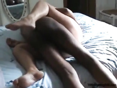Tottaly amateur cuckold wife fucking w Big black cock