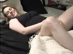 Huge black man copulates in bed with unsatisfied white MILF