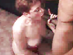 Mature wife in glasses cheating