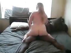 Blonde plump wife amateur cuckold interracial