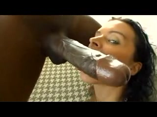 This white slut can't handle such a big bbc