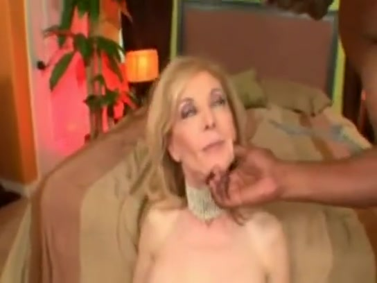 Nina Hartley gets BBC hard cock in the kitchen