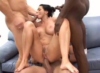Super white mom gets her holes filled w black meat