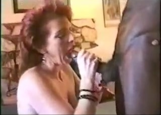 Mature redhead wife w pierced nipples gets creampie