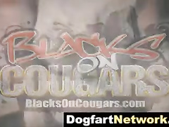 Janet Mason vs Shane Diesel's big black cock